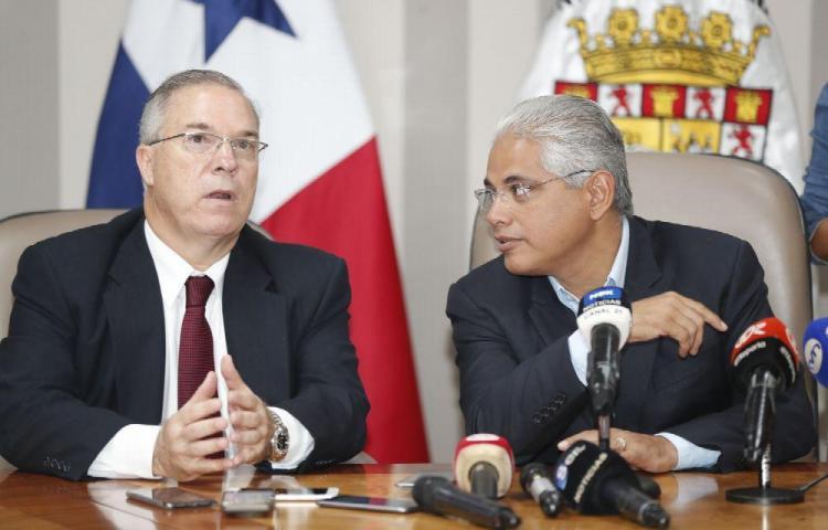 Reunión de transición en alcaldías de San Miguelito y Panamá