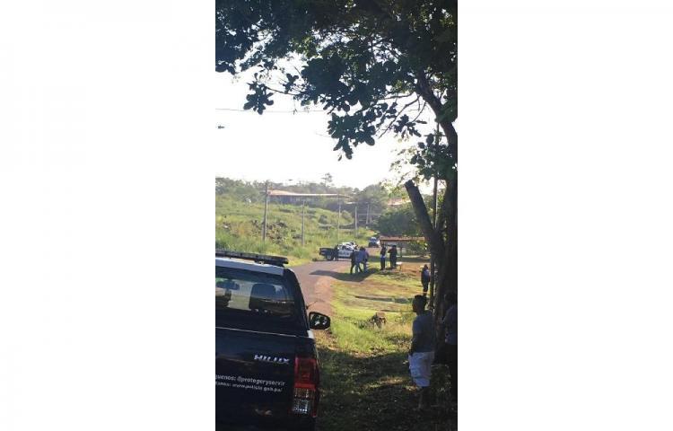 Encuentran en La Chorrera el cadáver de un hombre con las manos atadas