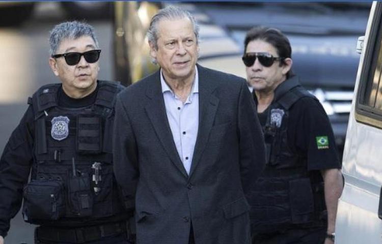 Exministro de Lula se entrega tras nueva orden de prisión
