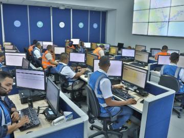 Centro de Control: pendiente del metrobús en la ciudad