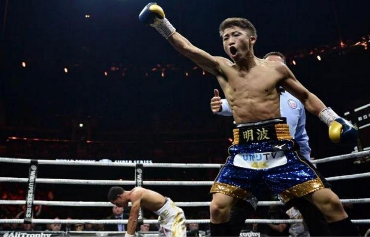 El japonés Inoue aplastó a 'Manny' Rodríguez en Glasgow