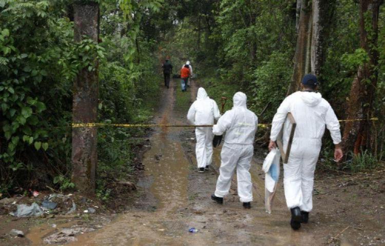 A detención por el hallazgo de los cuerpos de una pareja en Pedregal