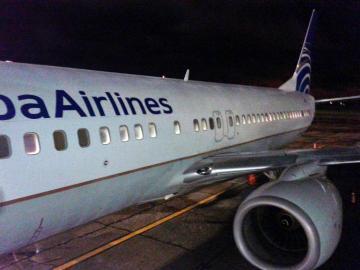 Avión de Copa sufre falla en las alturas