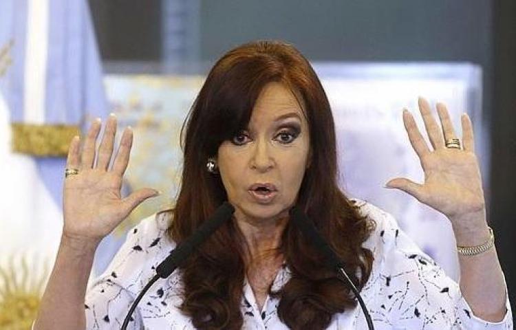 Cristina Fernández llega a los juzgados para su primer juicio por corrupción