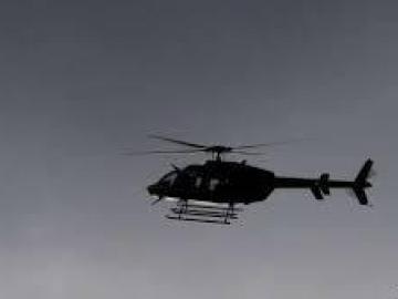 Dos personas mueren al precipitarse un helicóptero en el norte dominicano