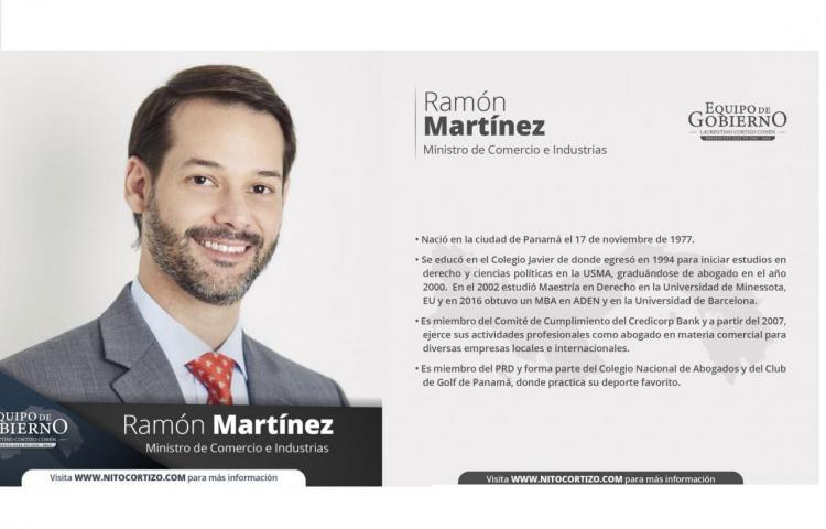 Este es el perfil de Ramón Martínez, designado ministro de Comercio e Industria