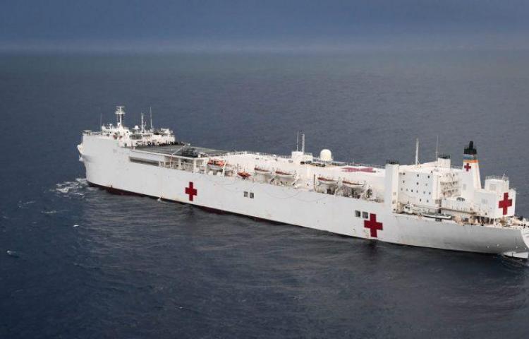 Buque hospital de Estados Unidos visitará Panamá
