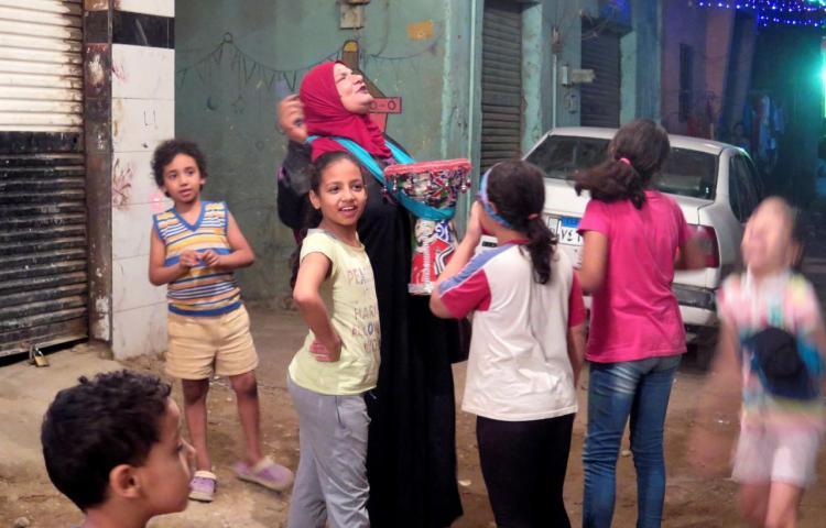 Una voz de mujer en la madrugada de Ramadán en El Cairo