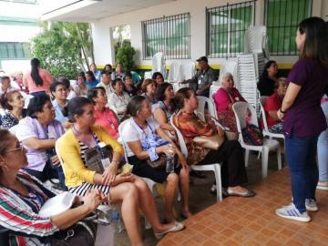 Asistencia pobre en el censo de salud de Chitré