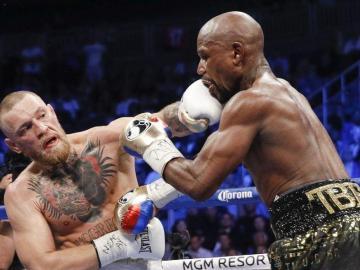 Conor McGregor vuelve a retar a Floyd Mayweather Jr