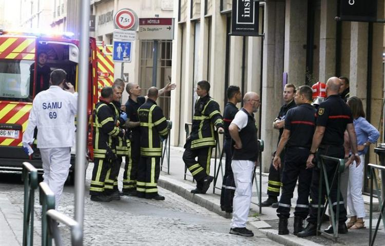 Una explosión en el centro de Lyon causa al menos ocho heridos