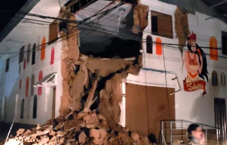 Al menos 6 personas heridas en Ecuador por terremoto con epicentro en Perú