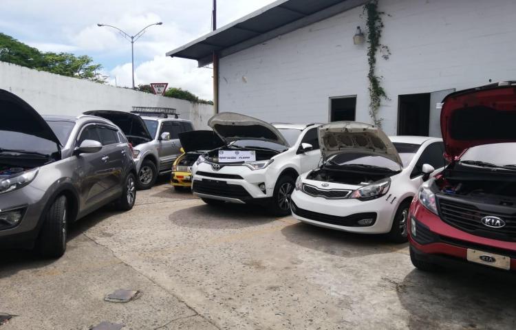 Autoridades recuperan ocho vehículos con denuncias de robo, hurto y estafa