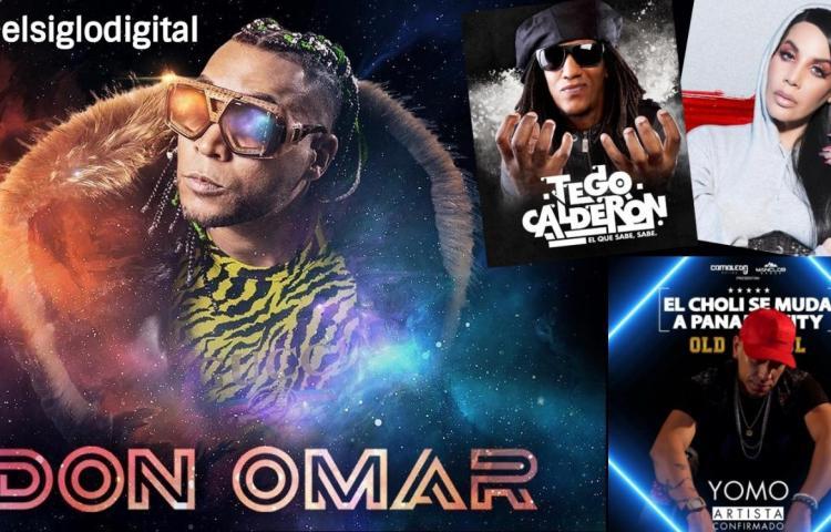 Don Omar, Ivy Queen, Yomo y Tego Calderón darán concierto en Panamá