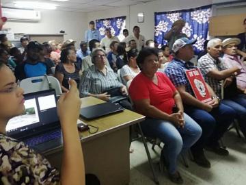 Pobladores Rechazan reubicación de calle en Pedasí