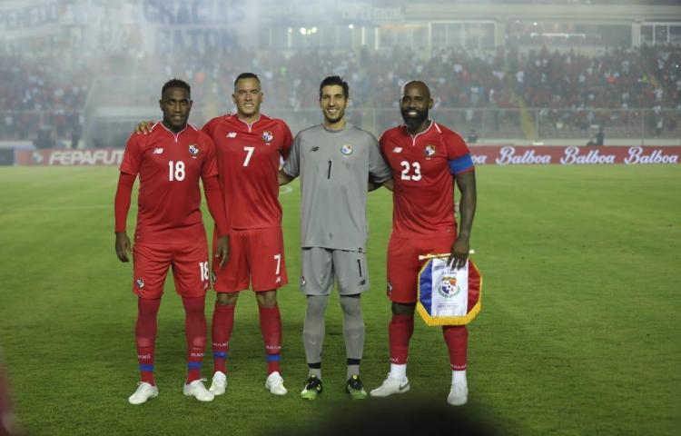 Penedo, Baloy, Blas Pérez y Tejada jugaron su último partido para Panamá