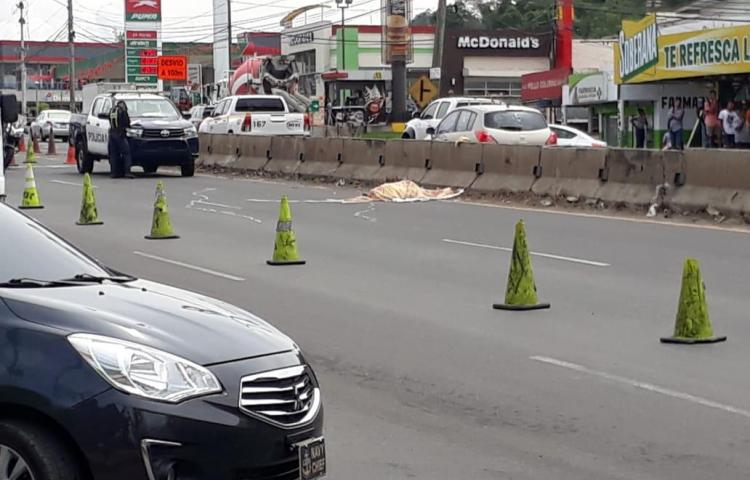 Muere hondureño por atropello en La Espiga, de La Chorrera