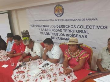 Indígenas panameños denuncian al Gobierno por retrasos en titulación tierras