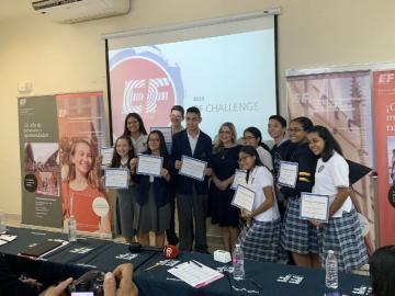 Alumnos participaron de concurso mundial