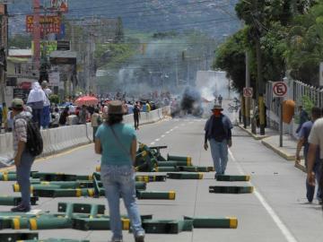 Ombudsman hondureño se ofrece para mediar entre Gobierno y manifestantes