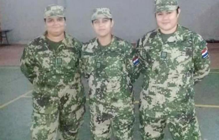 Del Ejército a Miss Gordita, las tres militares que rompen tabúes en Paraguay