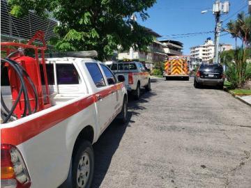 Evacúan otro edificio en El Cangrejo por fuga de gas licuado