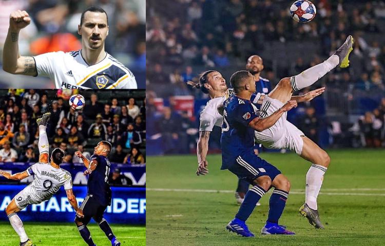 El golazo de Zlatan Ibrahimović del que todos hablan y casi nadie puede repetir