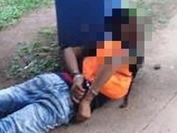 Atrapado robando en parada de bus en Arraiján