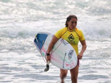 La surfista Samanta Alonso estará en los Panamericanos 2019