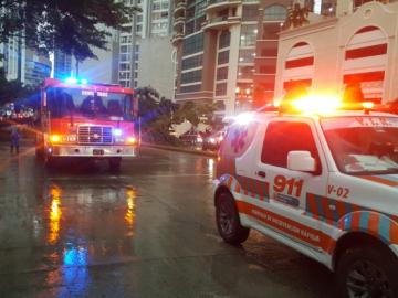 En fotos: Las fuertes lluvias en el país dejaron algunos daños