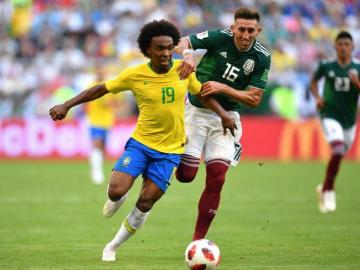 Willian reemplaza a Neymar en la Copa América