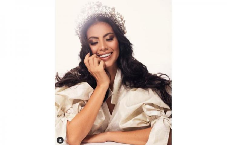 RosaMontezumarecuerda el día que ganó Señorita Panamá