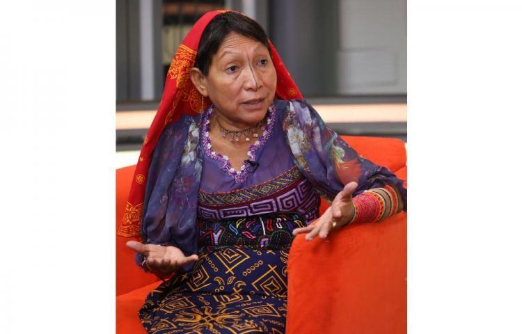 'Participé en política para dar espacio a las mujeres' Petita Ayarza