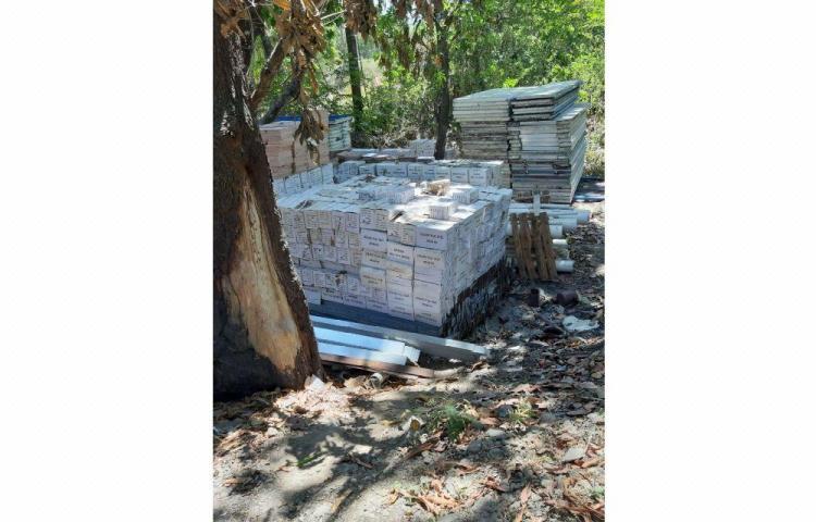 Obras de 'Sanidad Básica' en El Higo, inconclusas