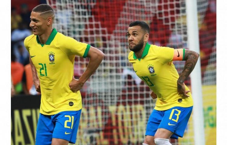 Brasil golea en la era Tite