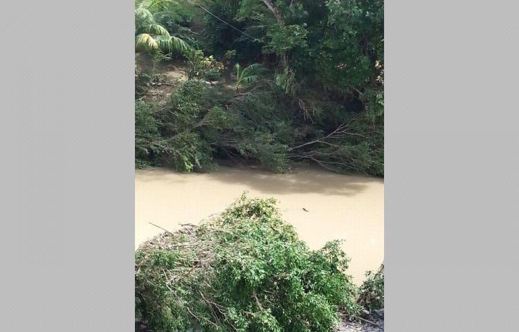Iba ebrio en una mula a cruzar el río crecido y desapareció