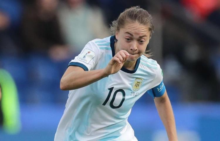 Rechaza que la llamen 'La Messi' de argentina