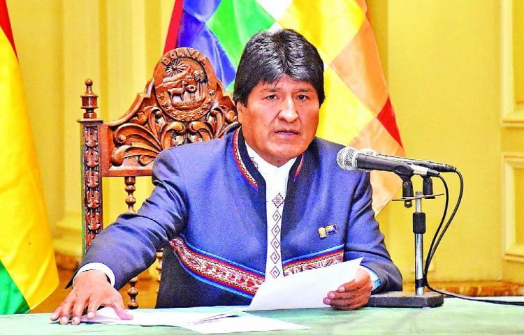 Cuestionamientos vienen de las dictaduras, Evo Morales