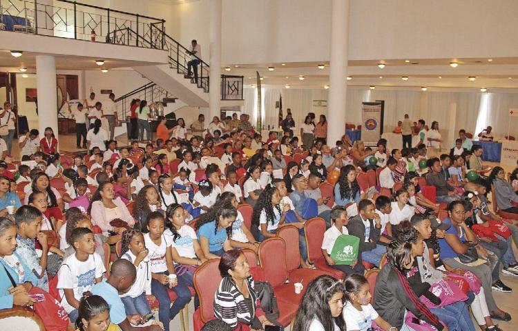 Niños participaron de encuentro 'Tu voz cuenta, participa'