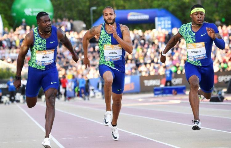 El estadounidense Rodgers supera a Gatlin en los 100 metros de Turku