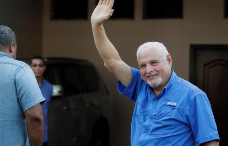 CD se pronuncia por el cambio de medida cautelar al expresidente Martinelli