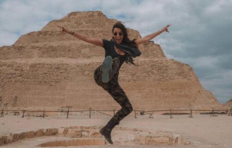 Aexie, la chica más joven en viajar a todos los países del mundo