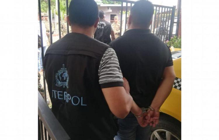 Recapturan en Chiriquí a tico buscado por INTERPOL