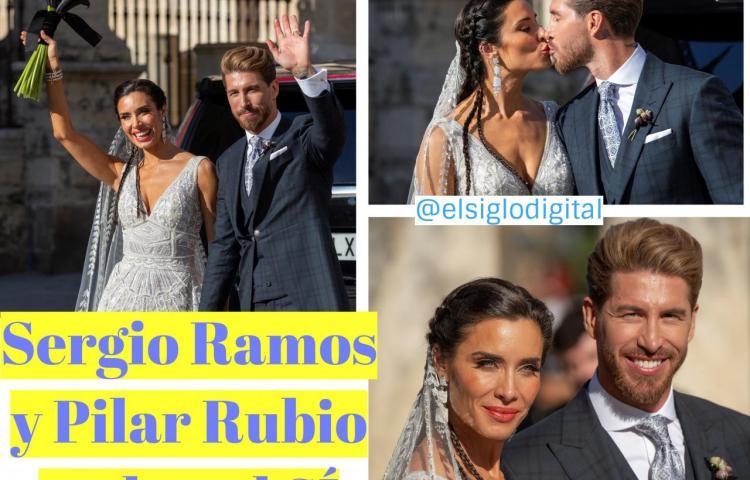 """Sergio Ramos y Pilar Rubio se dan el """"sí, quiero"""" en la Catedral de Sevilla"""