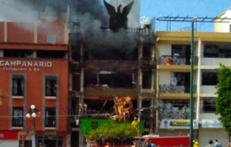 Cuatro muertos y 21 lesionados deja una explosión por fuga de gas en México