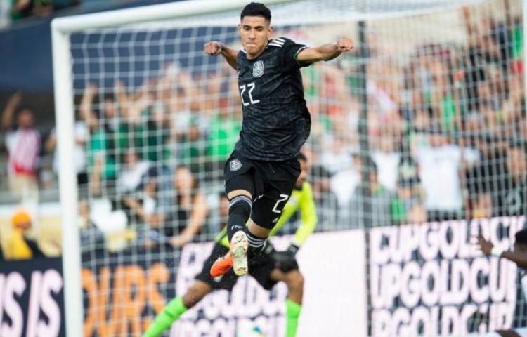 México de primero en la Copa Oro, le ganó 7-0 a Cuba