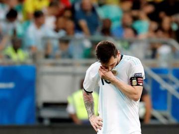 Messi se lame las heridas en el gimnasio con el resto de titulares