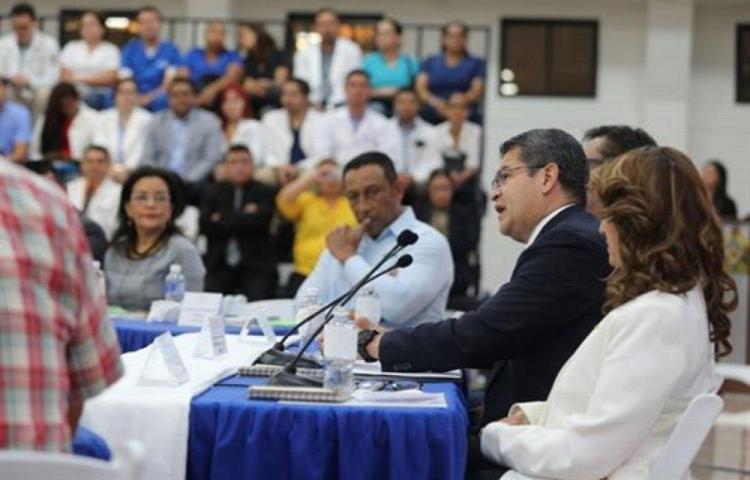 Diálogo no frena las protestas en Honduras