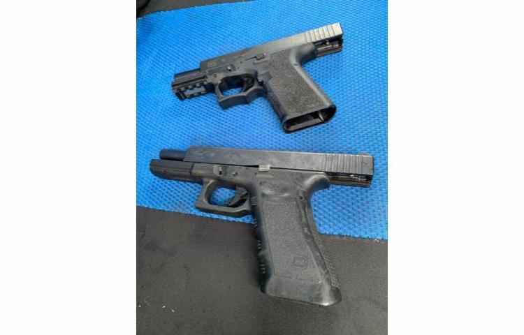 Sacan de las calles colonenses 95 armas de fuego