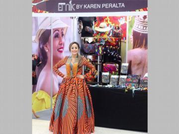 Karen Peralta, llevando la cultura más allá...